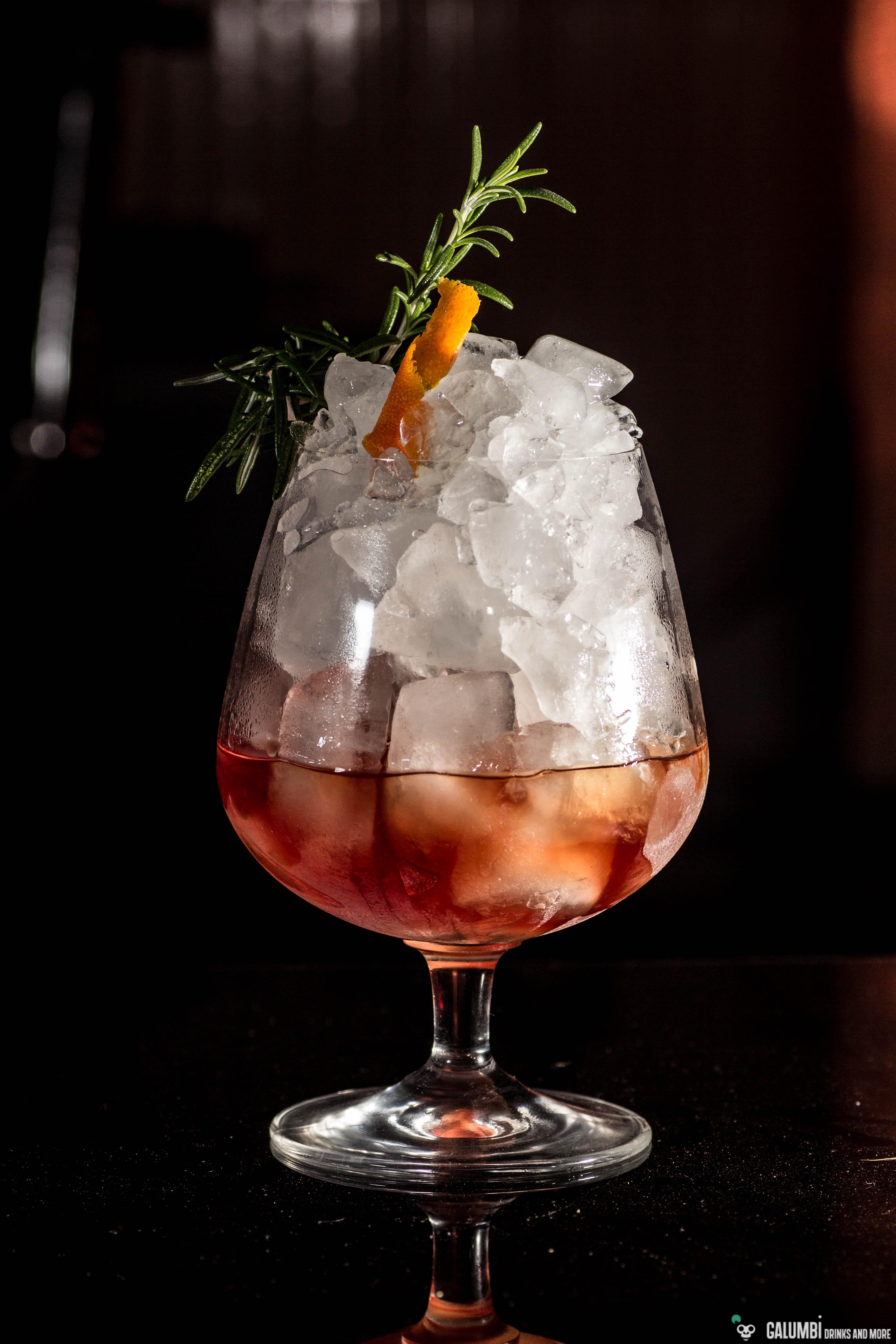 True Old Fashioned Drink Menu
