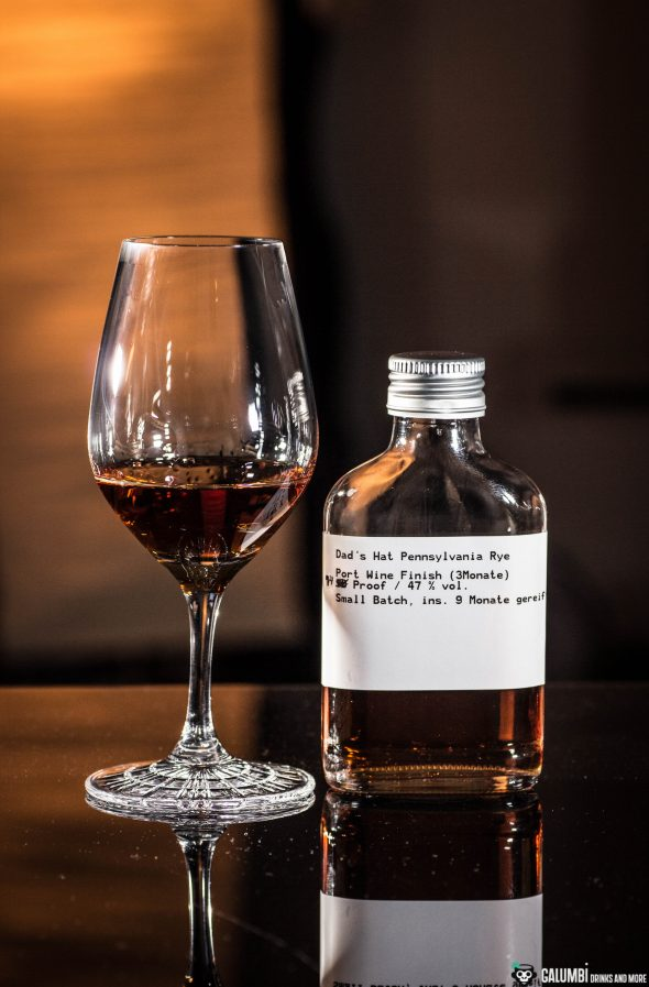 Whiskey Cocktail (Dad's hat port)