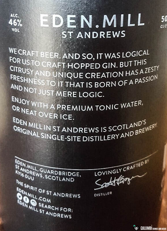 Eden Mill Gin
