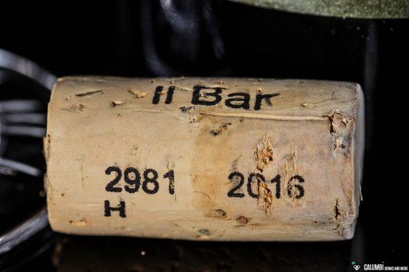 The cork refers to the Il Bar at Il Boccone