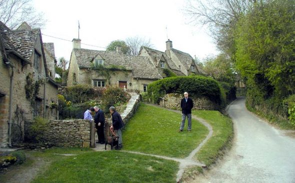 A village in Cotswolds